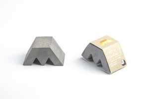 Concrete cable holder for the office and home desk secret santa gift