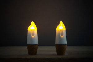 Candle stick shaped LED lights
