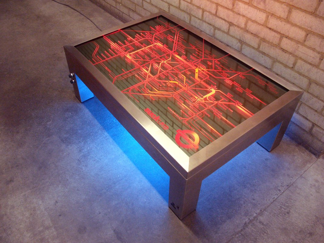 Coffee Table Furniture That Lights Up The Room