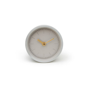Designer concrete desk clock fro the office and home