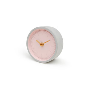 Multicoloured desk clock for students and professionals