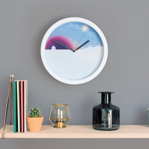 Quality ornamental wall clock a great gift for people of all ages