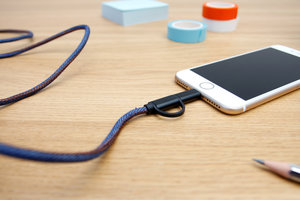 Fun easy to use sturdy charger for phone and micro usb