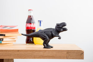 T-Rex bottle opener. Made from cast iron.