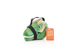 dinosaur lunch boxes with white background