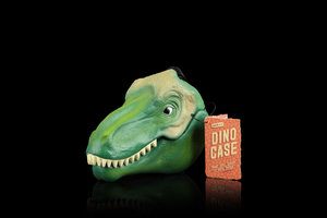 dinosaur pack lunch box with black background