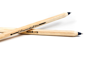 black unisex drumstick pens for him and for her
