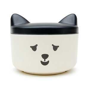 Original cat food container for pets with screw on lid