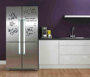 magnetic Fridge Fonts