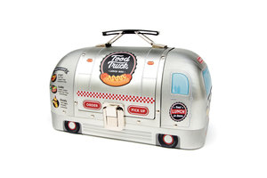 American hot dog stand lunch box