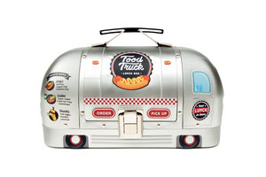 Tin food truck lunch box
