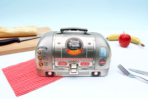 Food truck tin lunch box