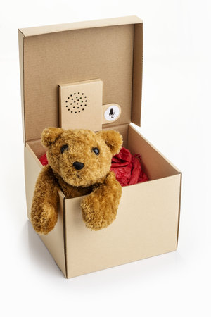 Unusual gift box for memorable Christmas and birthday presents