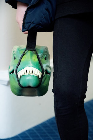 lunchbox dino with handle