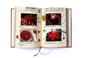 Blank Cook Book. Add photos of your favourite meals and special occasions.