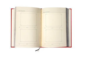 Blank Cook Book. Gallery sections for photos of your best kitchen creations.