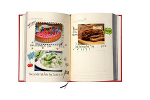 Family Cook Book. Add photos of your favourite recipes..
