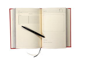 Blank Cook Book. Fill with your favourite family recipes.