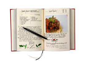 Family Recipe Book. Add your own recipes and photos.