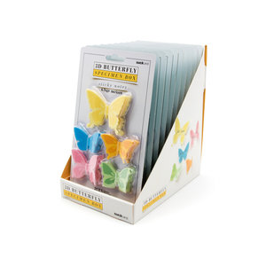 Butterfly sticky notes in POS