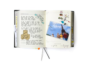 page hardcover diary for recording the events of a lifetime