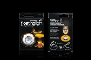 original floating light center table decoration