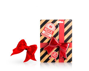 Amazing reusable box wrapping bow for birthdays