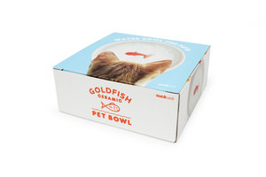 Goldfish pet bowl in packaging
