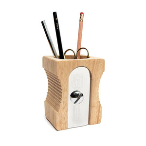 light brown desk tidy for office