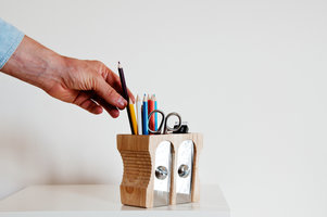 pencil sharpener pot for stationery