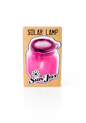 pink solar lights UK