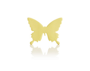 yellow butterfly 3d note pad