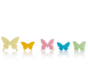 assorted 3D Butterfly shapes Sticky Notes