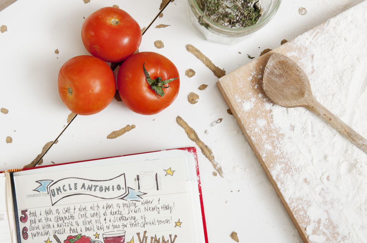 Book for recipes