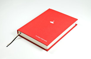 Blank Red Cook Book. Loads of pages for your recipes. Hardback Cover. Cloth Bound. Integral bookmarks.