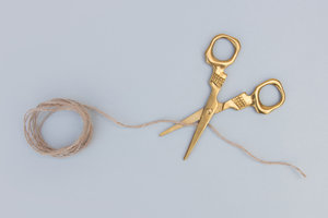 Novelty fun scissors for quirky embroidery lovers and tailoring