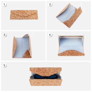 Cork glasses case sequence