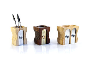 different sharpener pencil holders