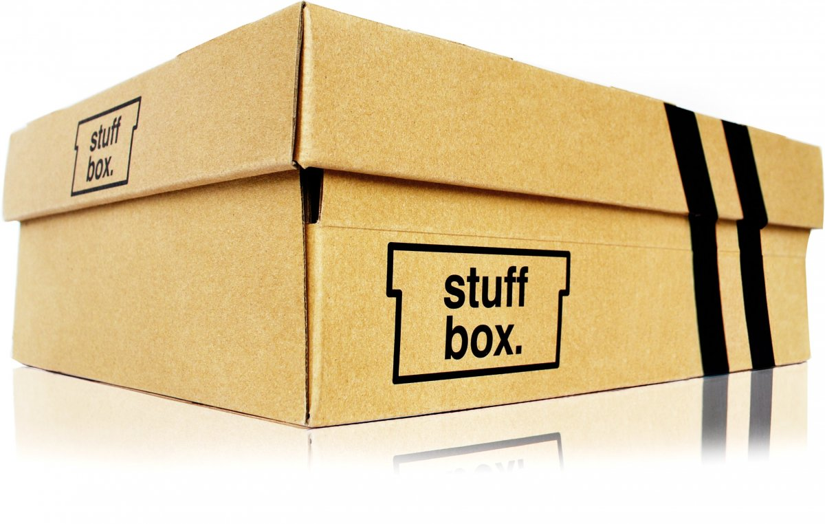 stuff box stash your important stuff in a shoe box