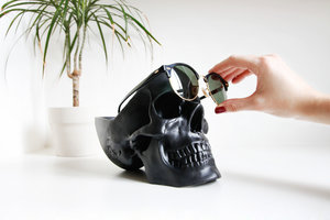 skull related gifts for her