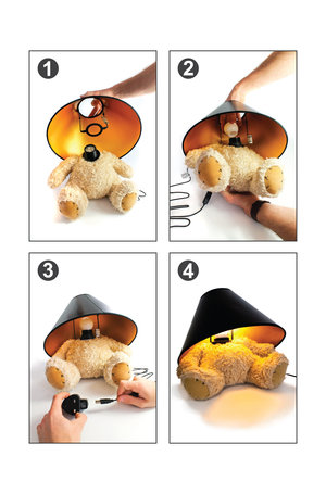 Teddy Lamp Assembly