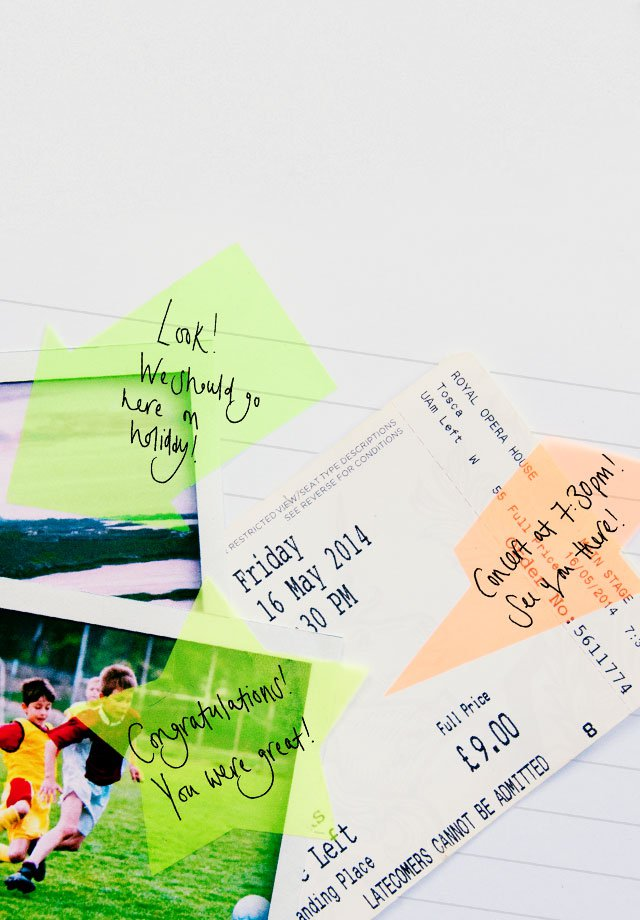 Transparent Notes : Clear advantage over regular sticky notes