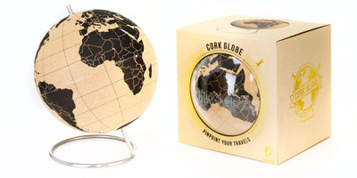 travel globe packaged in box