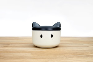 Adorable customisable pet treats plastic container