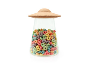 UFO air tight jar for cereal