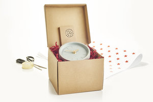 Fun original box for extra special gifts for students and professionals
