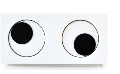 SUCK UK - Eye clock :  original lighting product modern