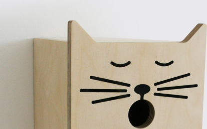 SUCK UK - Sylvester Bird Box :  original lighting product modern